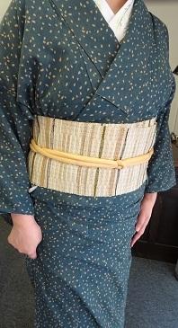 『半巾50+』の50本目とうとう織り上げました。_f0177373_21312926.jpg