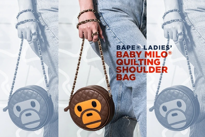 BABY MILO®︎ QUILTING SHOULDER BAG_a0174495_13215071.jpg