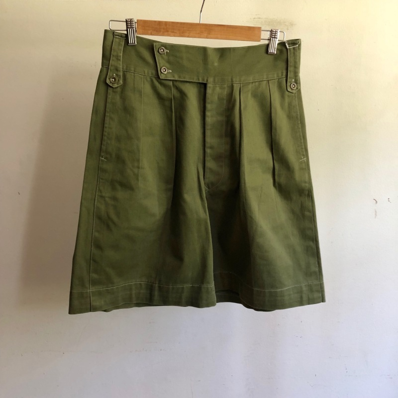 Royal Army Collarless Smock & KD Shorts._f0370108_14525625.jpg