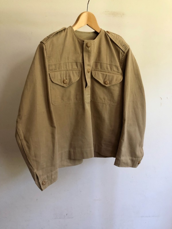 Royal Army Collarless Smock & KD Shorts._f0370108_14531027.jpg