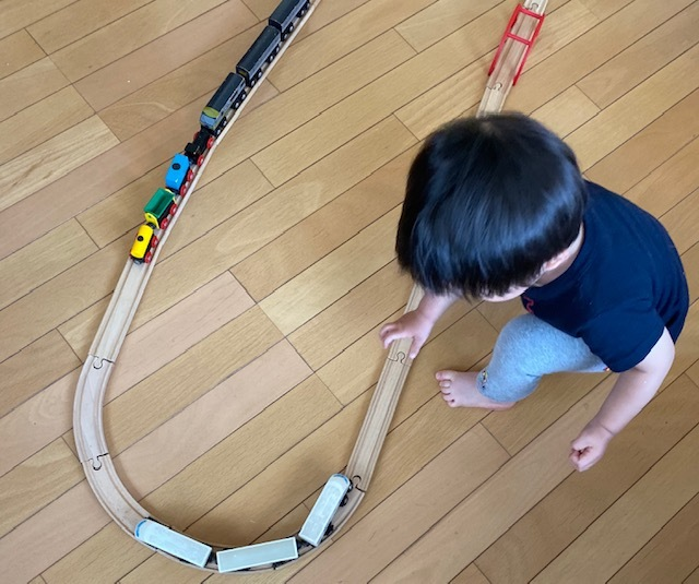 wood  toy   息子たち~孫に受け継がれて_a0165160_19023162.jpg