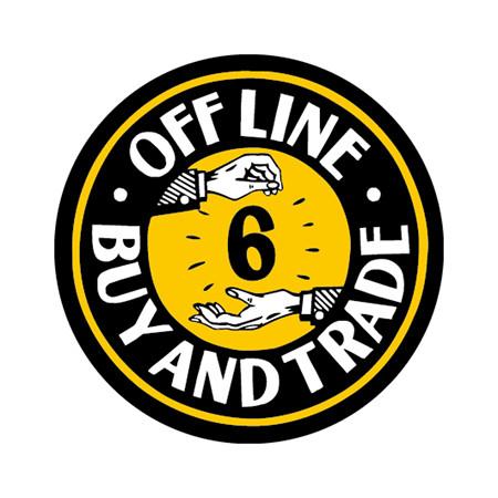 OFF LINE ステッカー&タオル_c0404676_19251754.jpg