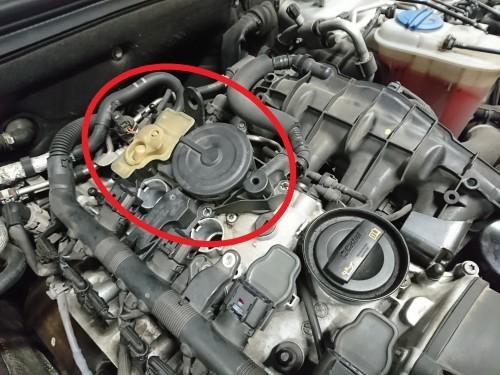 Audi A4 B8 クラッチ交換 Egチェックランプ点灯_c0219786_14125044.jpg