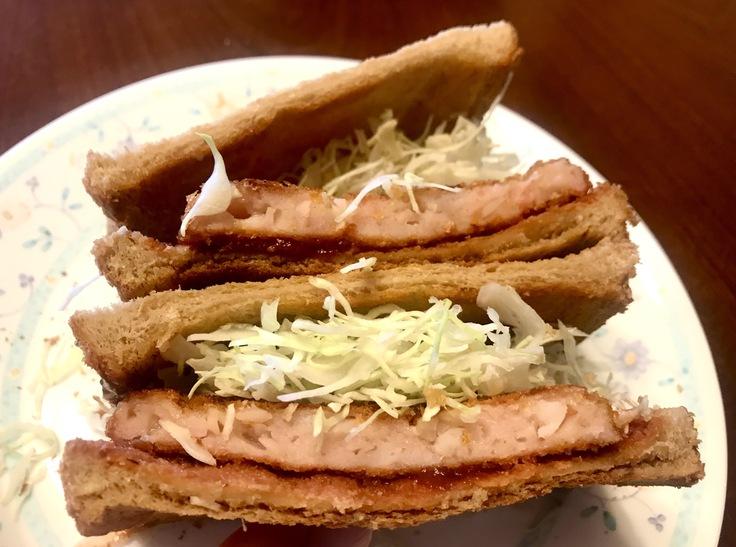 魚肉ハムカツサンド_c0212604_12421097.jpg