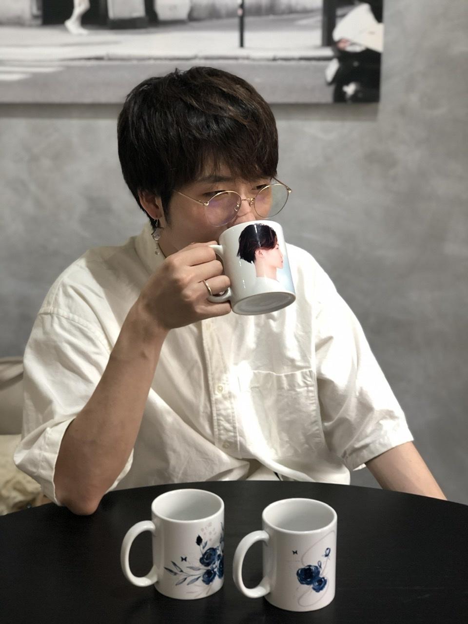 Seijiroオフィシャルファンクラブ「BLUE ROSE」オープン記念マグカップ製作中_a0157409_13594352.jpeg