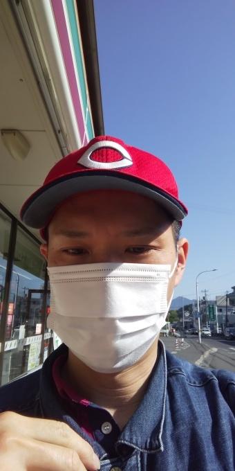 本日もアベノマスクよりコンビニのマスクで介護現場に出勤です!_e0094315_08103000.jpg