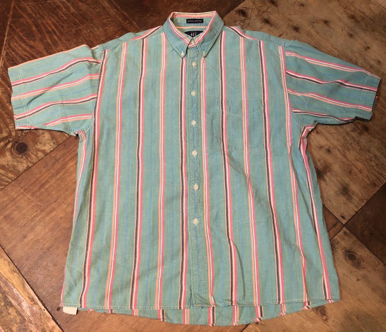 6月8日(月)入荷!80s VAN HUSEN all cotton ストライプ ボタンシャツ!_c0144020_12514403.jpg