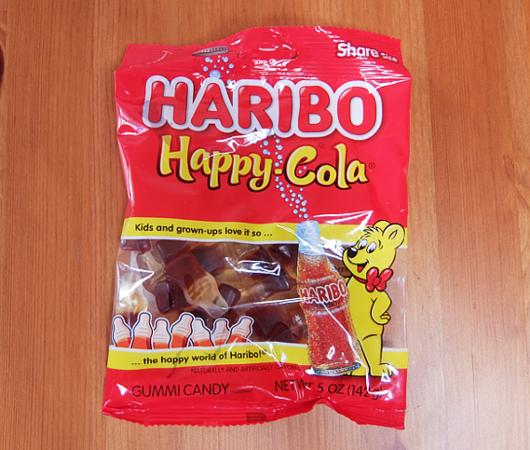 アメリカの定番駄菓子、ハリボーのハッピー・コーラ・グミ_b0007805_03160654.jpg