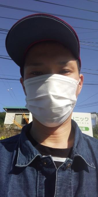 本日もアベノマスクよりコンビニのマスクで介護現場に出勤です!_e0094315_07445698.jpg