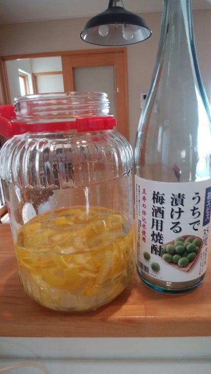 プチ便り(レモン酒つくり)_a0206870_21511973.jpg