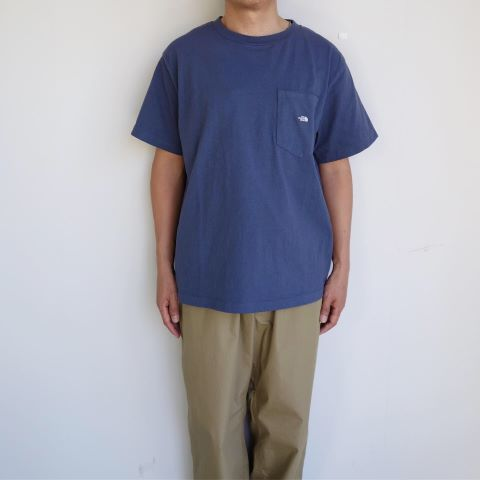 THE NORTH FACE PUPLE LABEL : 7oz H/S Pocket Tee_a0234452_14391981.jpg