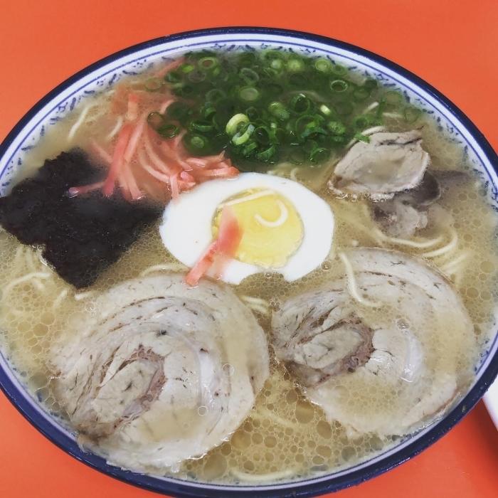 久留米のグルメ 食堂系ラーメン 丸好食堂_e0187362_15025887.jpg