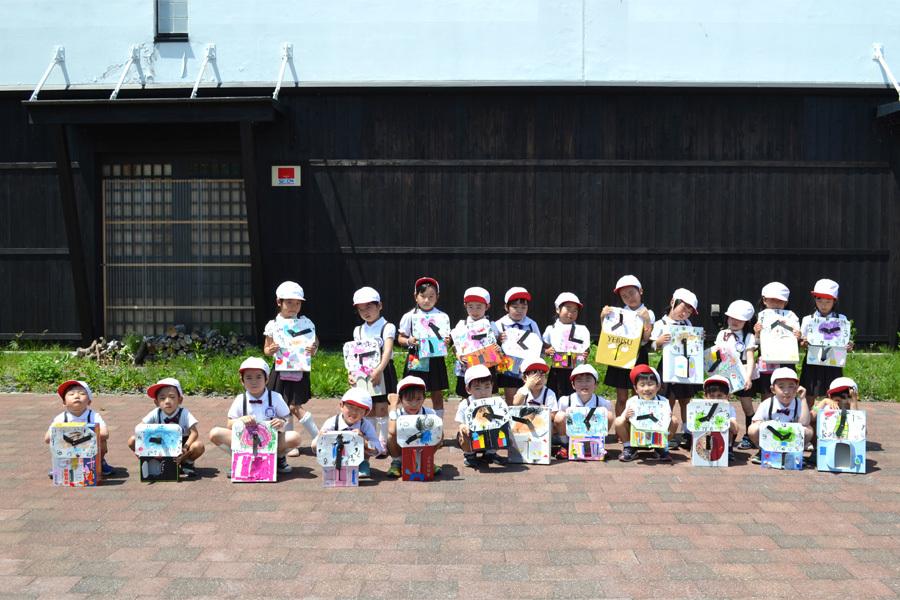 第一幼稚園 時計屋さん見学_d0353789_16481263.jpg