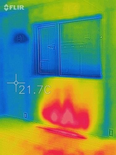 新潟市江南区 床下エアコン 熱画像 熱カメラ_c0091593_14580543.jpg