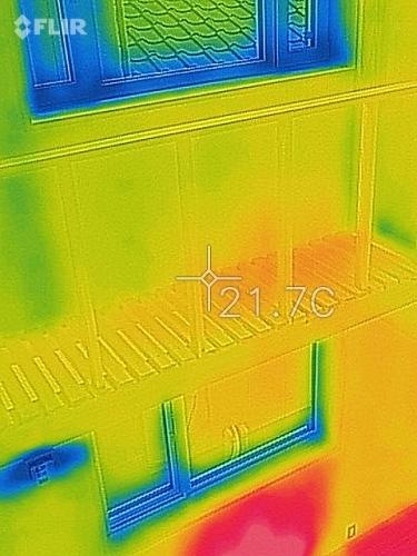 新潟市江南区 床下エアコン 熱画像 熱カメラ_c0091593_14580571.jpg