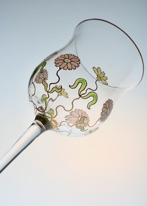 THERESIENTHAL ENAMEL RIESLING WINE GLASS_c0108595_23214298.jpeg