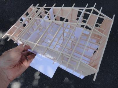 北杜の家 軸組模型_a0122098_15345321.jpg