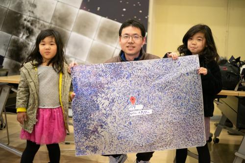 HIBINO HOSPITAL Vol.73 「一分の一の日本地図は世界のどこかの場所に似ている。」at 電波宇宙館(高萩市/2019.1月20日 )_a0216706_15272076.jpg