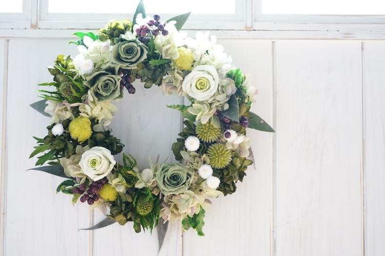 ご結婚祝いに。フラワー電報_a0136507_21245121.jpg