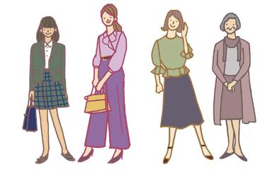 Chant イラスト 女性のライフサイクル_f0172313_01511297.jpg