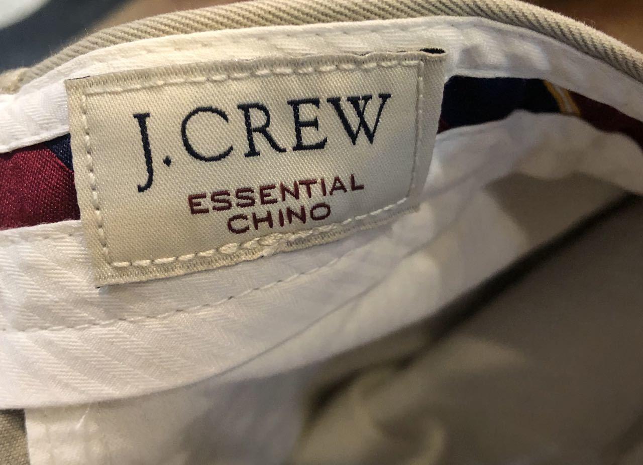 6/11入荷! J.CREW チノ_c0144020_14430596.jpg