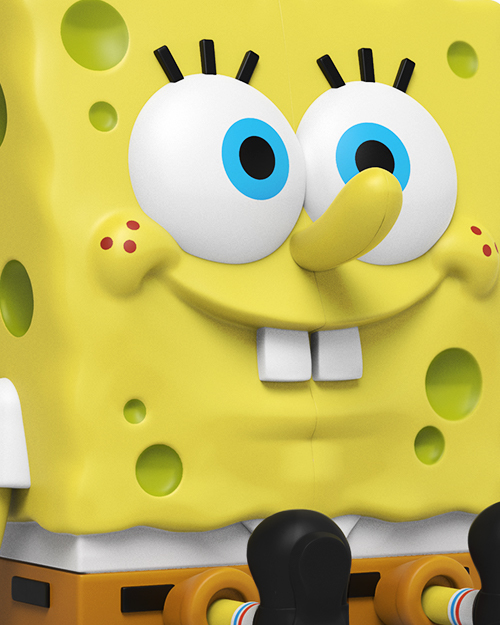 XXPOSED Spongebob Squarepants by Jason Freeny_e0118156_20465388.jpg