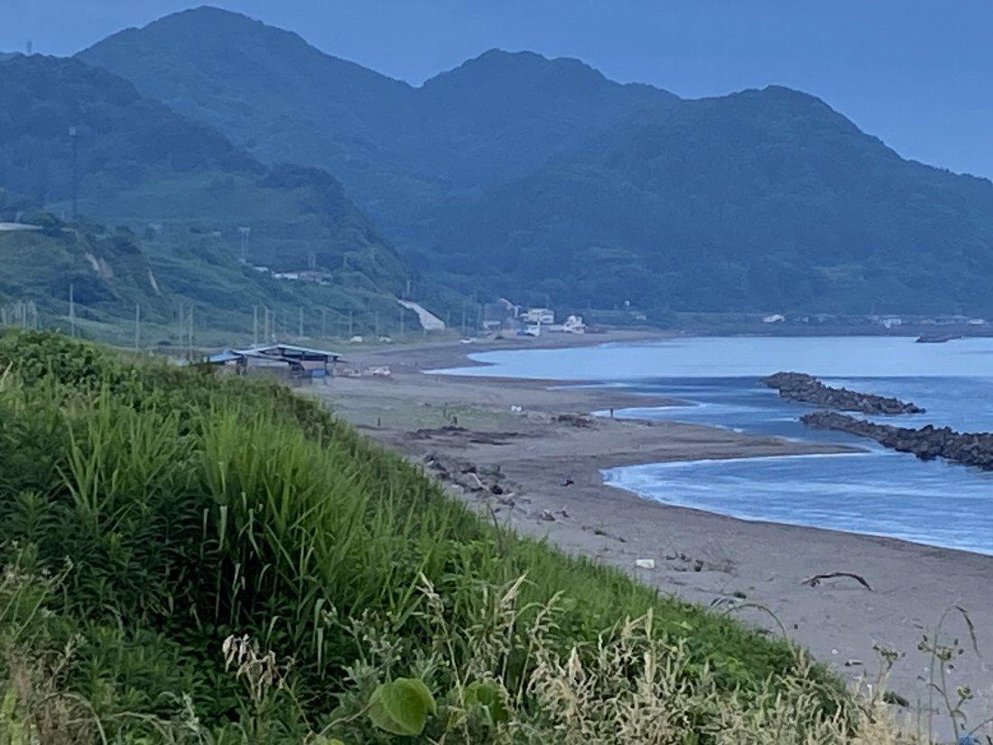 今朝の海岸!_e0065084_2235402.jpg