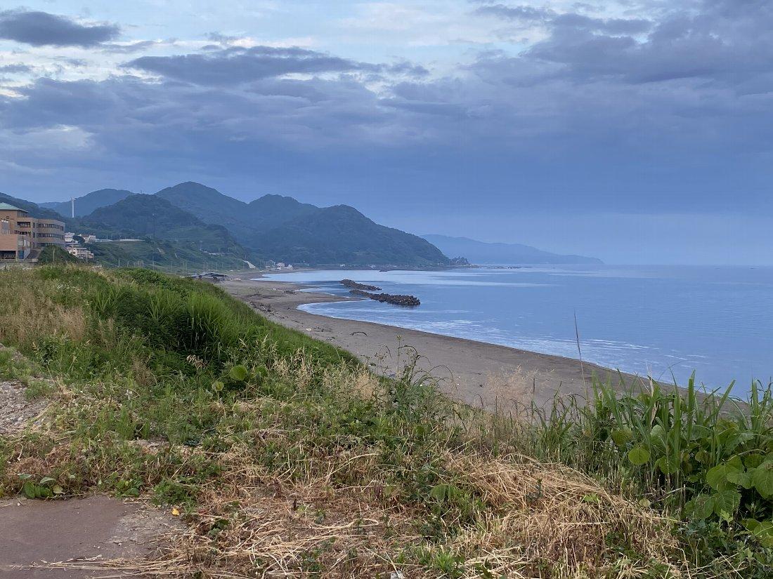 今朝の海岸!_e0065084_22355222.jpg