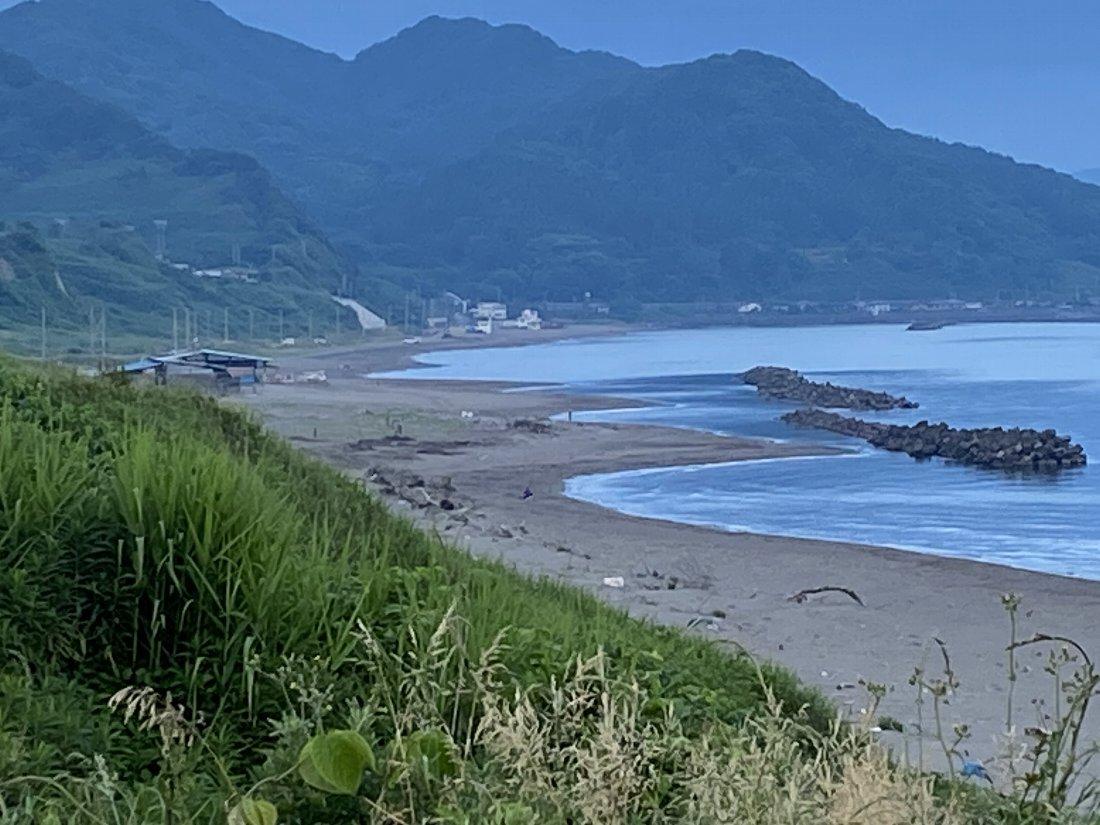 今朝の海岸!_e0065084_2236032.jpg
