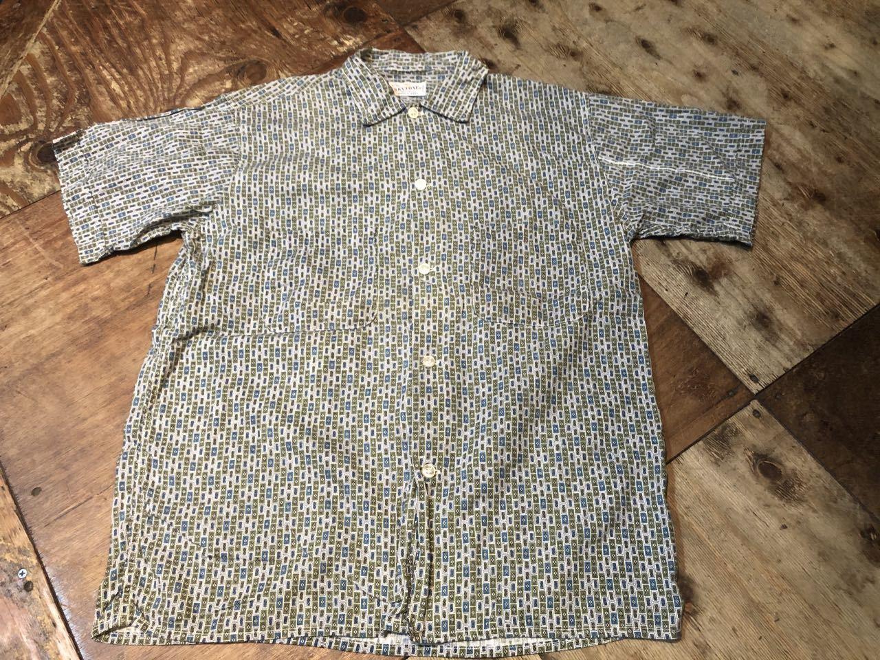 6月13日(土)入荷! 60s SKYTONE all cotton ボックス 柄シャツ!_c0144020_13214679.jpg