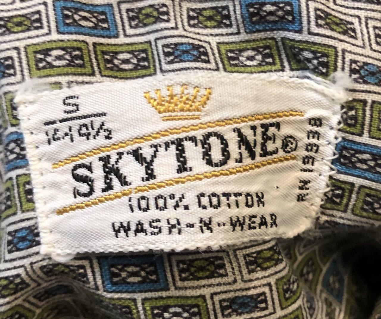 6月13日(土)入荷! 60s SKYTONE all cotton ボックス 柄シャツ!_c0144020_13215509.jpg