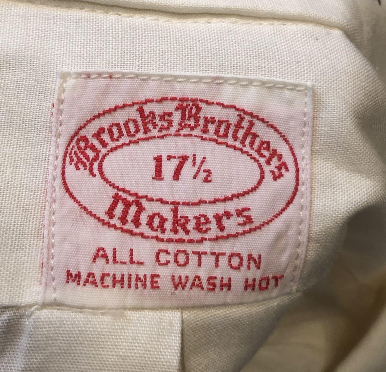 6月13日(土)入荷!70s〜Brooks brothers  ブルックスブラザーズ 6ボタン ブロードクロス ボタンダウンシャツ!XLサイズ_c0144020_13235022.jpg