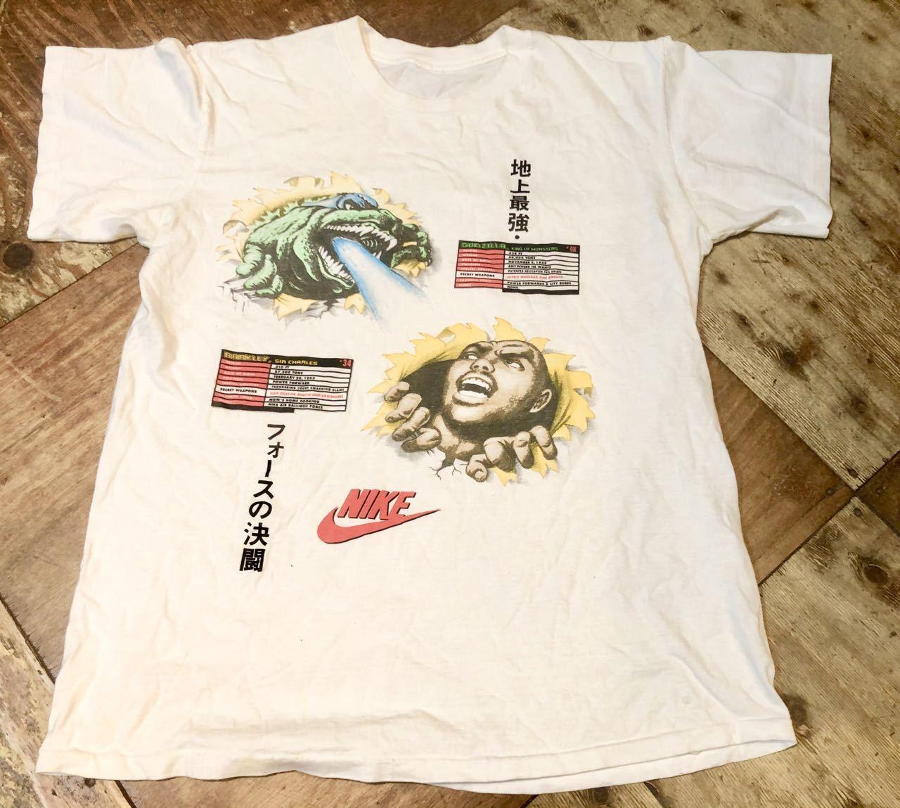 6月13日(土)入荷!1992年 90s NIKE GODZILLA ゴジラ BARKLEY AIRFORCE  Tシャツ!_c0144020_13470231.jpg