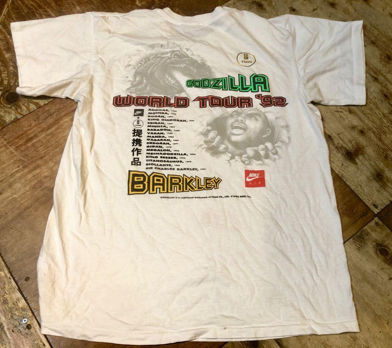 6月13日(土)入荷!1992年 90s NIKE GODZILLA ゴジラ BARKLEY AIRFORCE  Tシャツ!_c0144020_13470890.jpg