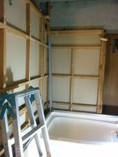 浴室の解体~マンション_c0405550_16455114.jpg