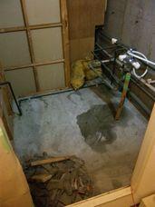 浴室の解体~マンション_c0405550_16455254.jpg