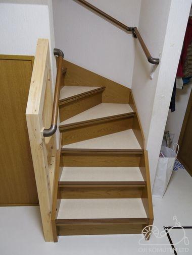 介護保険で階段改修_c0405550_16463320.jpg
