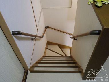 介護保険で階段改修_c0405550_16463397.jpg