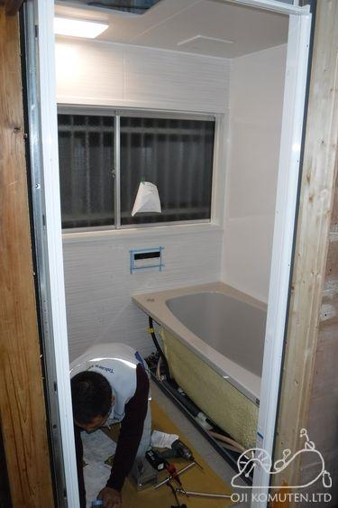 浴室リフォームから耐震工事へ_c0405550_16465692.jpg
