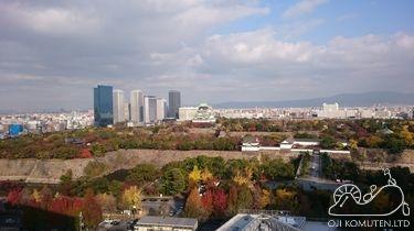 大阪城を望む新病院 大阪国際がんセンター見学会_c0405550_16465936.jpg