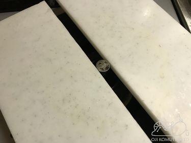 熱したフライパンを人工大理石に放置した。_c0405550_16470272.jpg