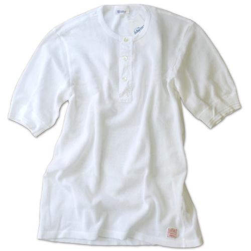 Schiesser シーサー ヘンリーネック メッシュジャージー Tシャツ 145周年モデル JACQUES_c0118375_16045307.jpeg
