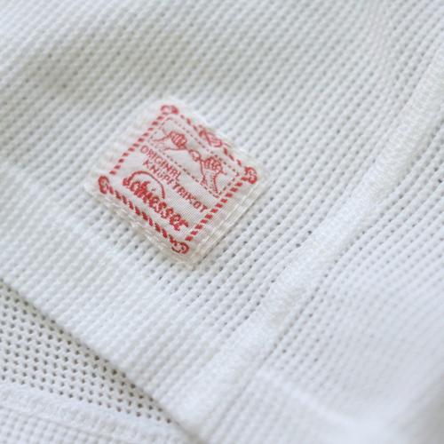 Schiesser シーサー ヘンリーネック メッシュジャージー Tシャツ 145周年モデル JACQUES_c0118375_16053957.jpeg