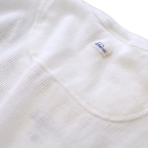Schiesser シーサー ヘンリーネック メッシュジャージー Tシャツ 145周年モデル JACQUES_c0118375_16055066.jpeg