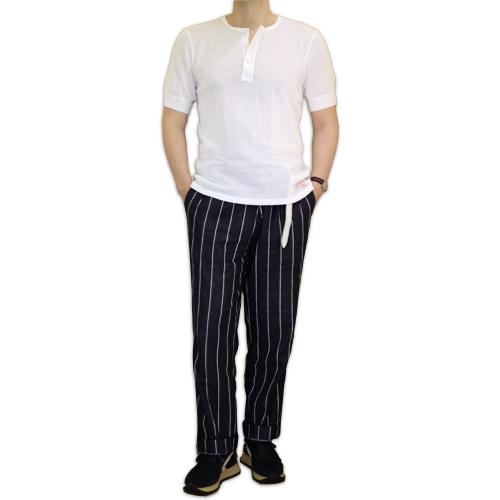 Schiesser シーサー ヘンリーネック メッシュジャージー Tシャツ 145周年モデル JACQUES_c0118375_16060119.jpeg