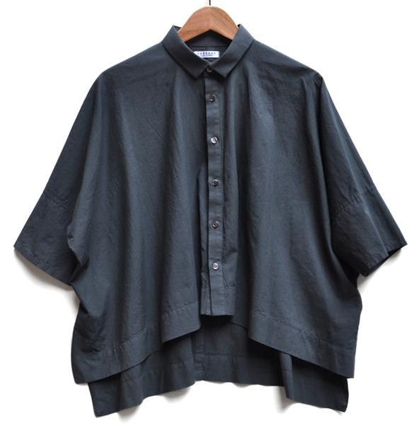 ペルー綿のカジュアルワイド半袖シャツ / FACTORY_d0193211_16232199.jpg