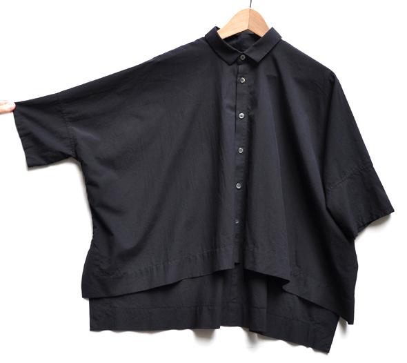 ペルー綿のカジュアルワイド半袖シャツ / FACTORY_d0193211_1651217.jpg