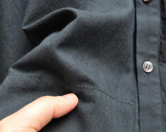 ペルー綿のカジュアルワイド半袖シャツ / FACTORY_d0193211_16541452.jpg