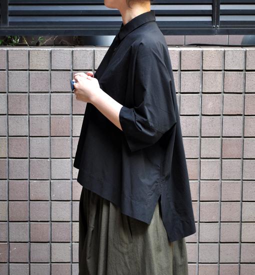 ペルー綿のカジュアルワイド半袖シャツ / FACTORY_d0193211_16595313.jpg