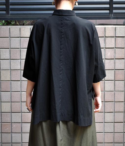 ペルー綿のカジュアルワイド半袖シャツ / FACTORY_d0193211_1712695.jpg